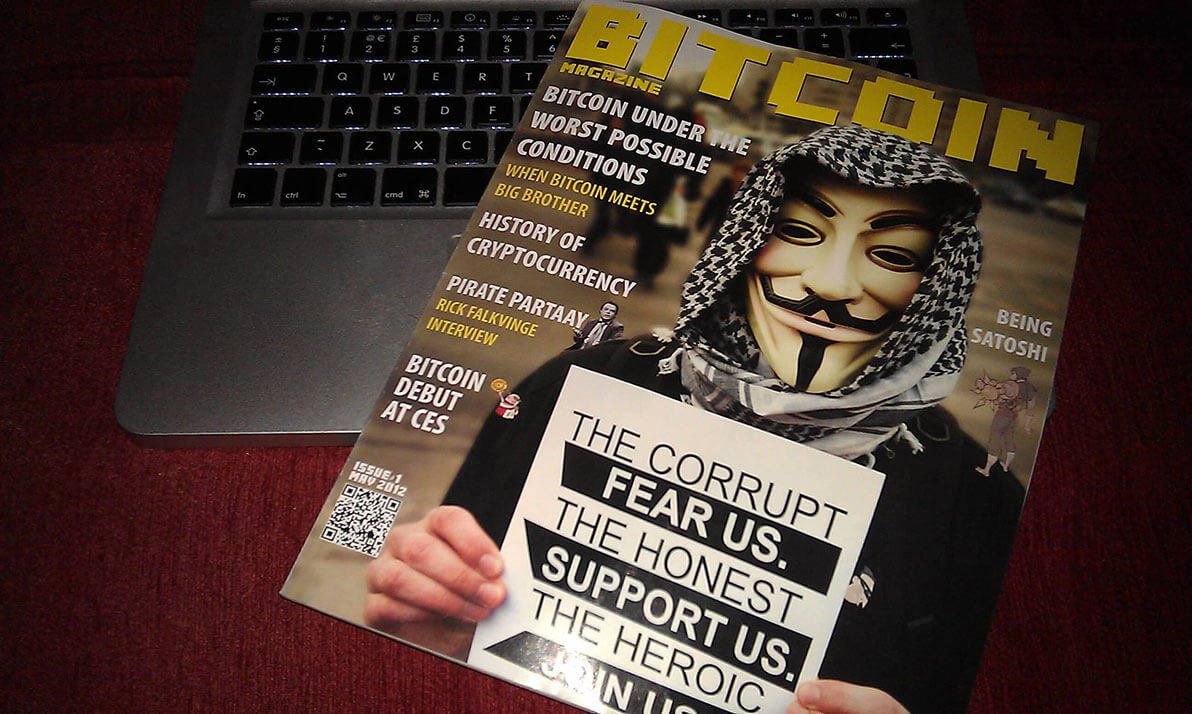 bitcoin magazine revista