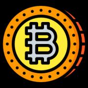 criptomoneda bitcoin icono