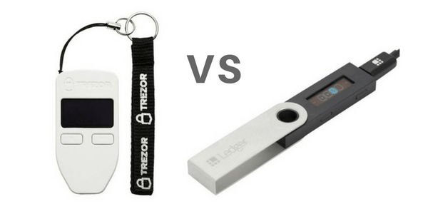 trezor one vs ledger nano s comparativa