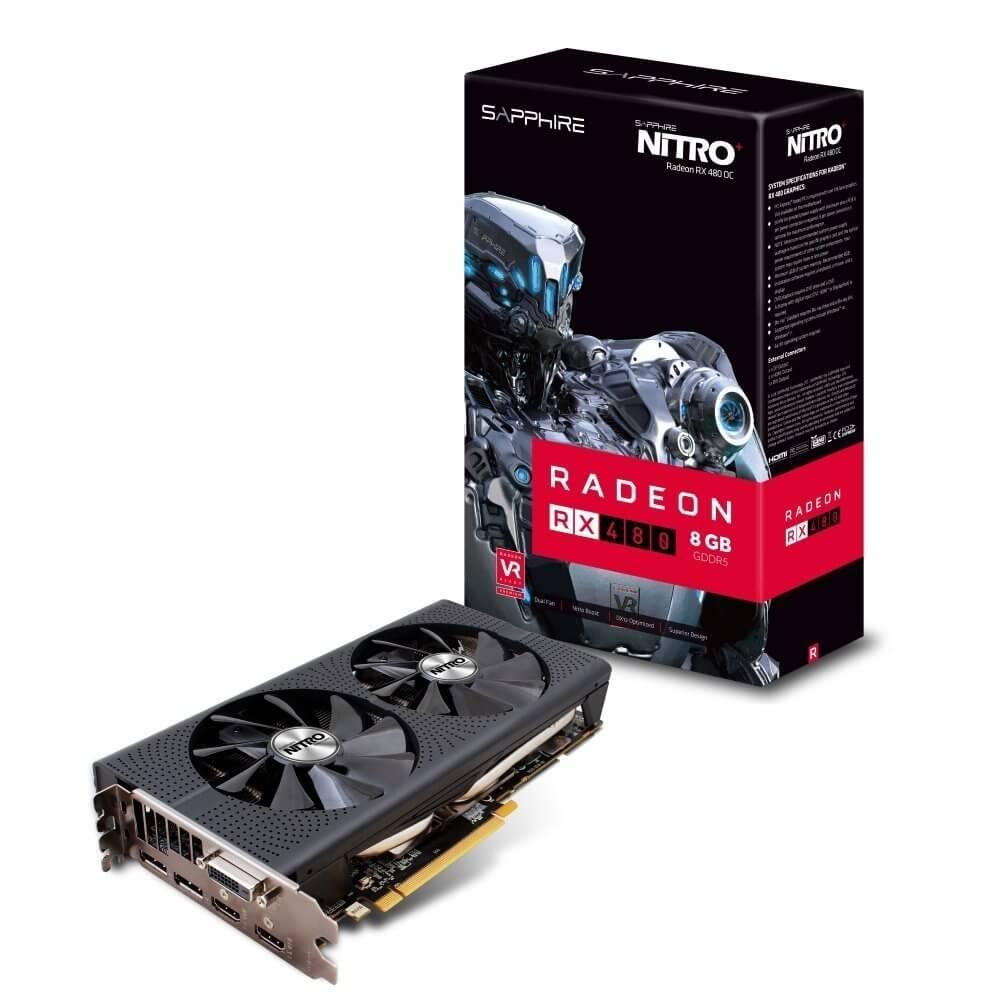AMD Radeon RX 480 minar criptos