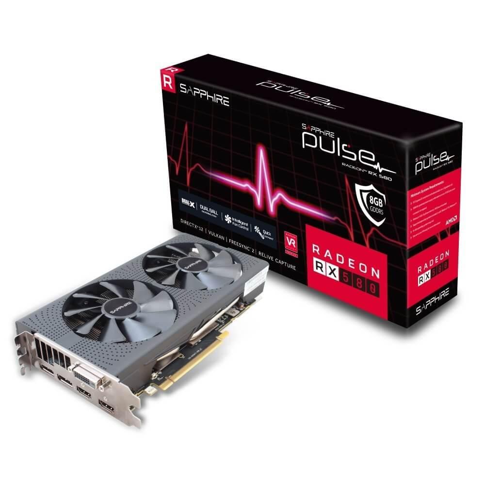 AMD Radeon RX 580 mineria