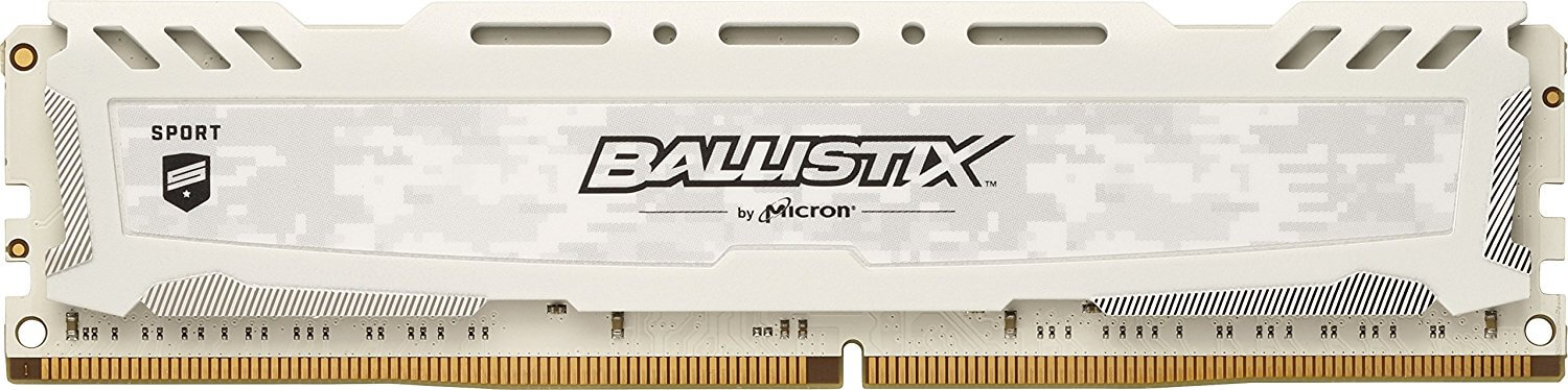 Ballistix Sport LT 8GB Single DDR4 2400MHz