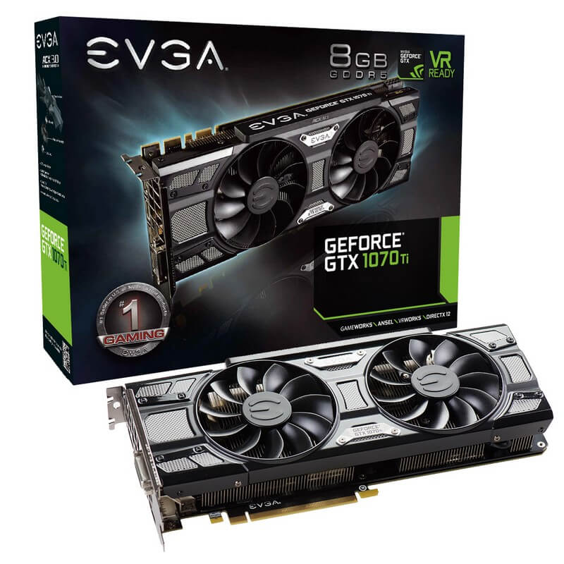 EVGA Geforce GTX 1070 Ti