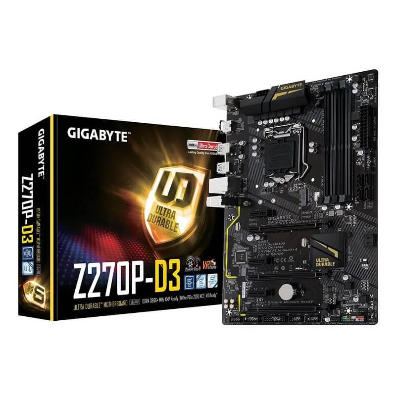 Gigabyte GA-Z270P-D3 (6 GPUs)