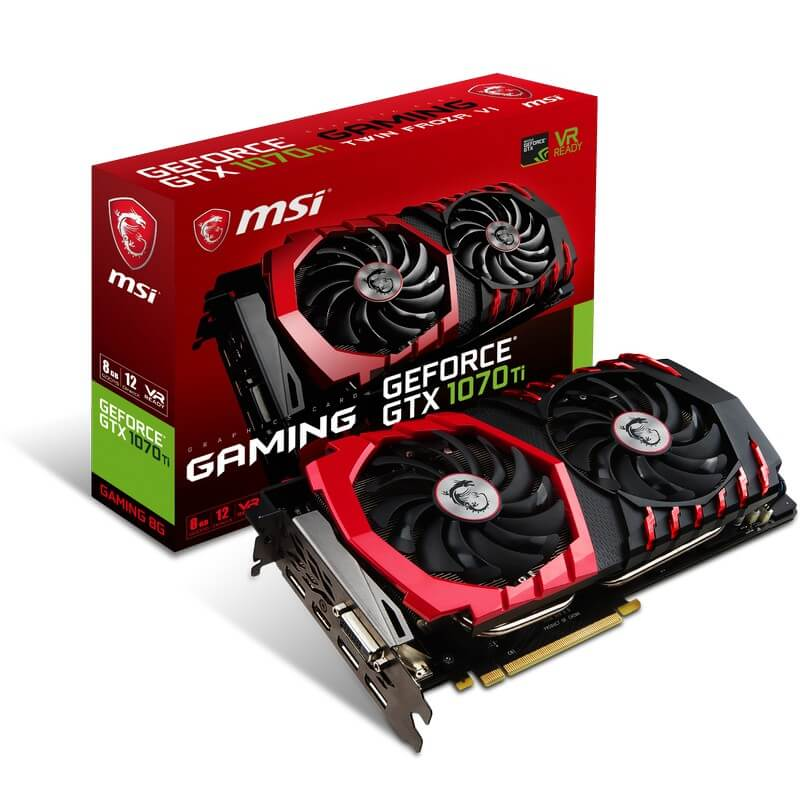MSI GeForce GTX 1070 Ti