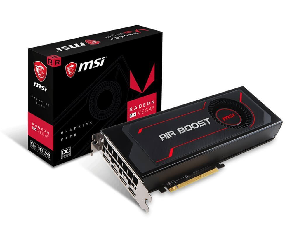 MSI Radeon RX VEGA 56 Air Boost