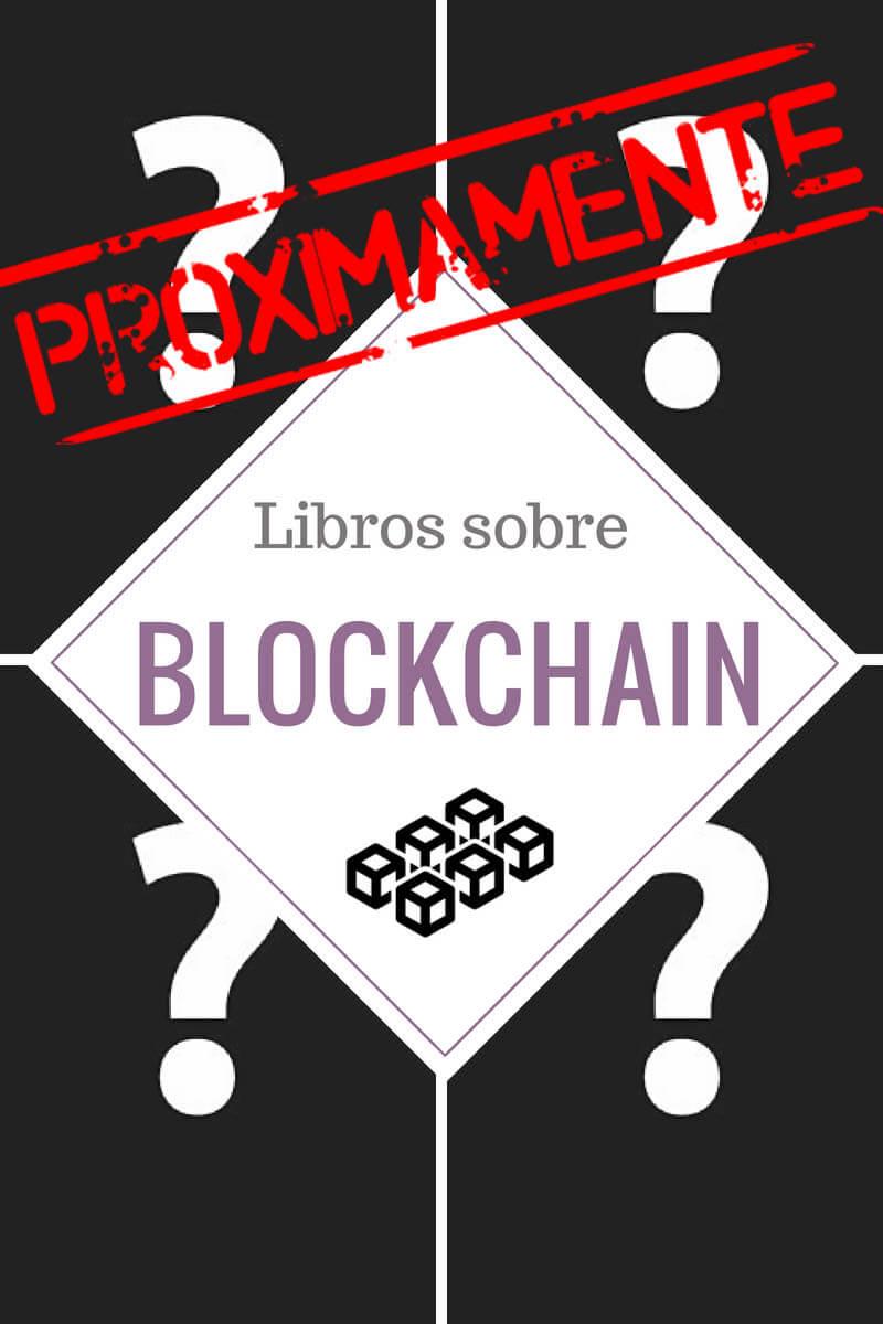 proximamente libros blockchain