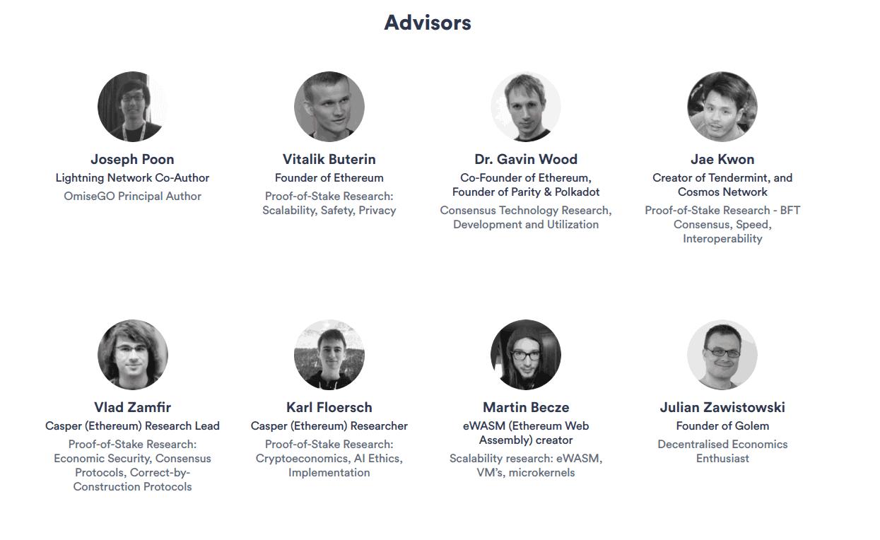 advisors omisego