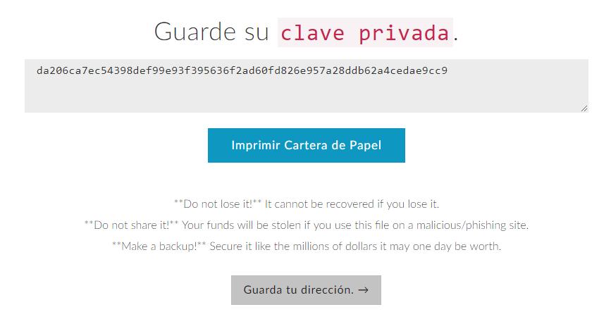 mew clave privada paso 4