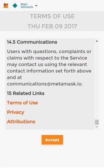 privacidad y condiciones aceptar
